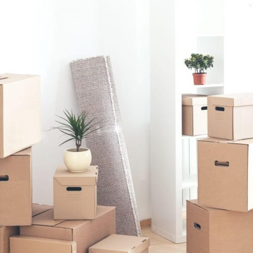 moving into first apartment